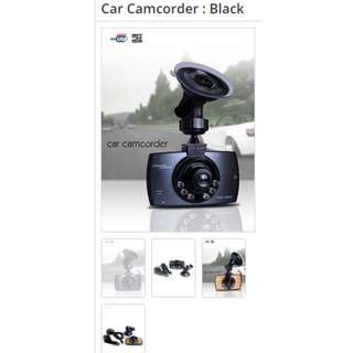 Car Camcoder - Black