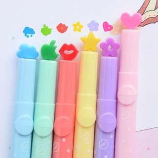 Highlight Pen / stamp 螢光筆/印章