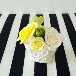 Mother's Day Special , Clay Flower Arrangement