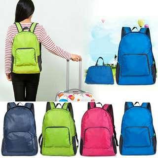 Bag foldable travel pack