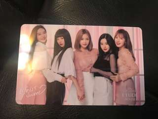[RS] RED VELVET ETUDE HOUSE CARD