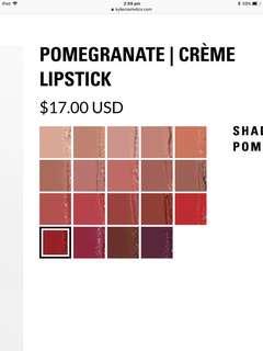 Kylie Cosmetics Creme Lipsticks