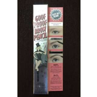 BENEFIT BRAND NEW & AUTHENTIC BENEFIT KA-BROW + BENEFIT GOOF PROOF BROW PENCIL $37 EACH (PRICE IS FIRM)