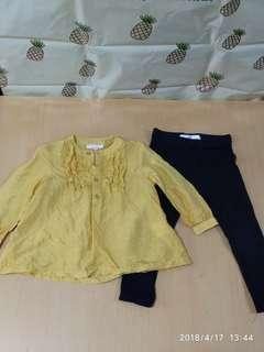 Seed上衣 + 馬莎leggings