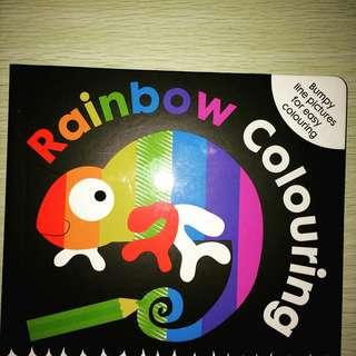 Rainbow Colouring Book