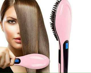 Brush Hair Straightener