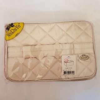 Naraya box shape cosmetic bag