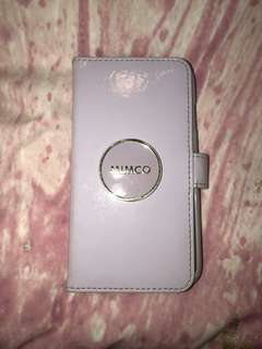 Mimco phone case white