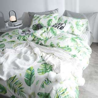 Nordic element bedsheet