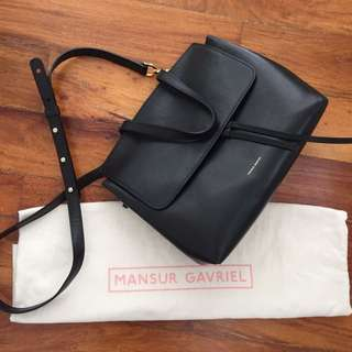 Mansur Gavriel Lady Mini Leather Tote