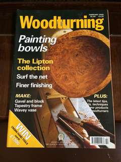 Woodturning 2000 Feb no.84