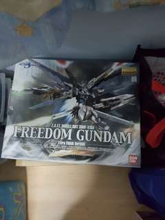 $5 off if collect at my house. MG freedom gundam extra finish
