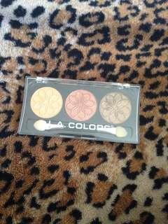 L.A. Colors 3 Color Eyeshadow Palette - Sunflower