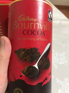 Chocolate drink no sugar from England