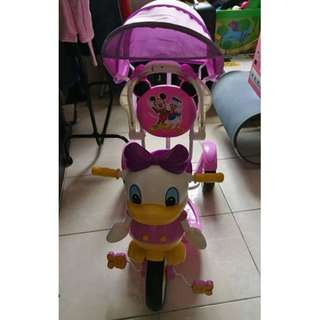 donald duck tricycle