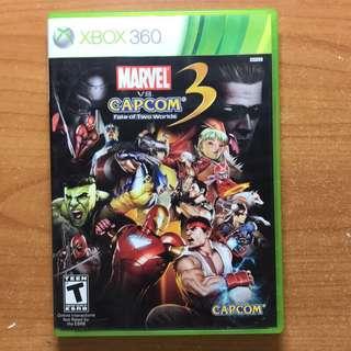 Xbox360 Marvel vs Capcom3