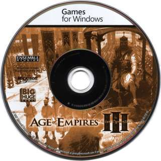 Preowned game disc Age of Empires III *Disc Only No Case Covers Booklets*