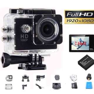 Affordable SJ 1080p HD Mini Sport Action Camera Waterproof Cam DV Mini Camcorder Helmet GoPro Style with Screen Water Resistant