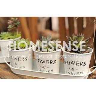 Nordic Style Metal Flower Pot