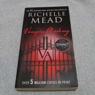 The Vampire Academy by Richelle Mead