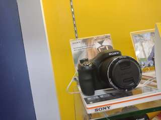 Camera sony prosumer H400 dijual kredit