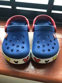 Crocs (Mickey with flashing lights)