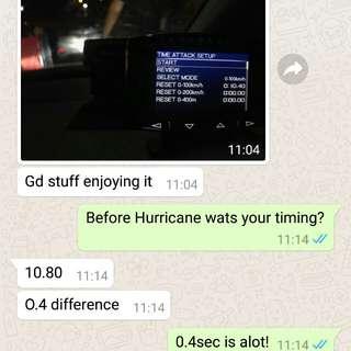 Hurricane Filter performance Filter