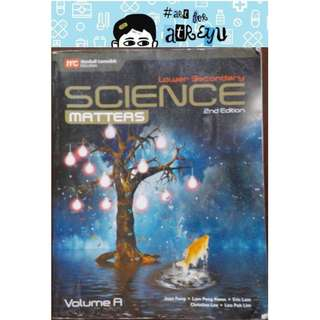 Science Matters Lower Secondary 2nd Edition (Volume A) for Grade 7