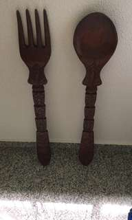 Fork and Spoon decoration