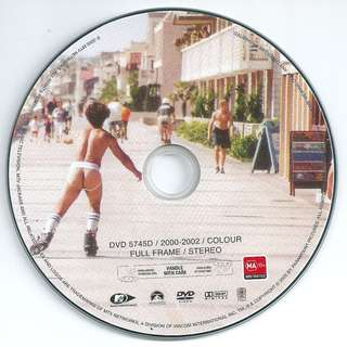 Preowned DVD movie disc Jackass the Movie *Disc Only No Case or Covers*