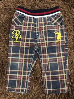 Baby polo pant
