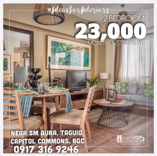 2 Bedroom For Sale Condo in Pasig City near BGC