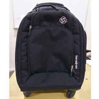 "Samsonite Backpack  Model ""MVS Spinner"" Backpack, 19 inch."