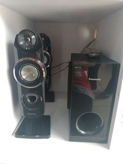 Panasonic home teather SCXH31LJK dijual kredit