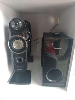 Panasonic home teather SCXH31LJK dijual kredit