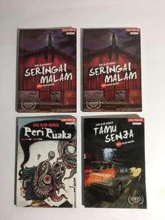 Komik Seram Karya Artis Melayu
