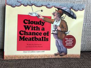 Judi Barrett - Cloudy With A Chance Of Meatballs