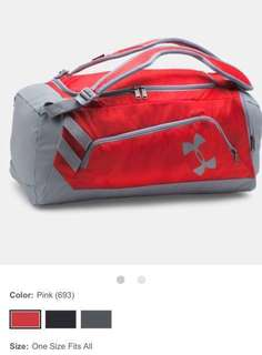 Under Armour Duffel Bag (message me for discount)