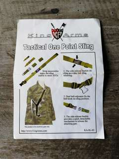 King Arms Tactical One Point Sling