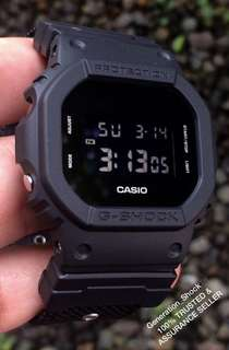 BEST🌟SELLING CASIO GSHOCK DIVER 200m WATCH : 1-YEAR OFFICIAL WARRANTY: 100% Originally Authentic G-SHOCK Resistant BLACKOUT ILLUMINATOR LIGHTS Best Gift For Most Rough Users : DW-5600BBN-1DR / DW-5600 / DW5600BBN / DW5600 JAPAN MOVEMENTS