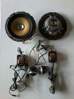 Speaker set carrozzeria caroz