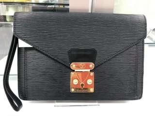 Authentic Louis Vuitton Epi Clutch