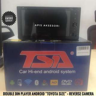 "Promosi Double Din ""Toyota Size"" Android Player TERBARU"