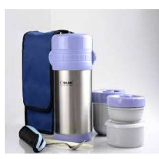 ungu SHUMA Vacuum Lunch Box unggu purple lila
