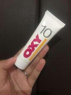 Oxy acne 10