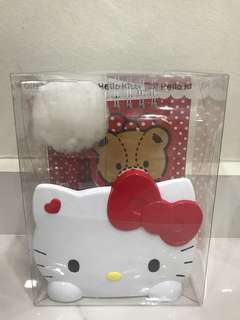 Hello kitty Holder with pen & note pad