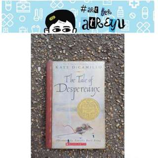 The Tale of Despereaux by Kate DiCamillo (Ateneo book grade 5 reading)