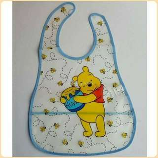 Plastic Bib Pooh
