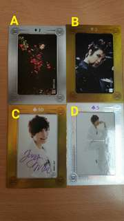 SS501 朴政珉collection card