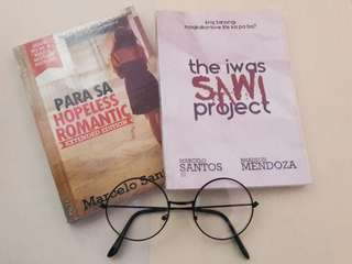 the iwas sawi project & para sa hopeless romantic By : Marcelo Santos III